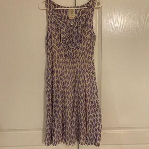 Meadow Rue Anthropologie Sleeveless Ruffle Dress 4